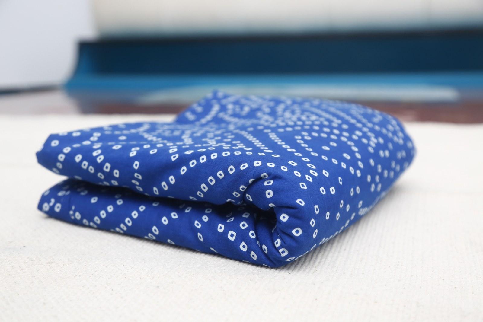 Hand Block Printed Cotton Running Fabric-TS-FB-133 (4)